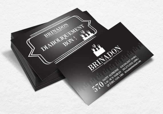 Resto-Bar Brinadon | Cartes d'affaires