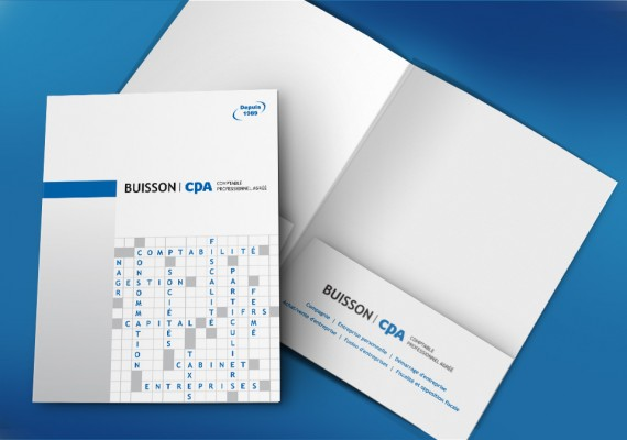 Buisson CPA | Pochette corporative
