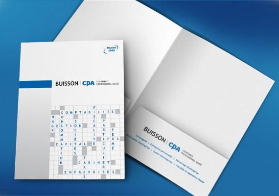 Buisson CPA | Pochette corporative