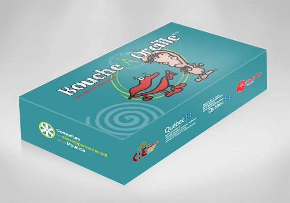 Consortium en Développement Social de la Mauricie | Packaging, jeux de société