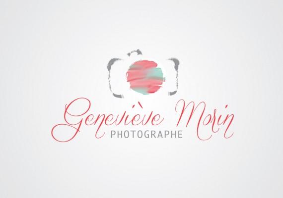 Geneviève Morin, photographe | Logotype
