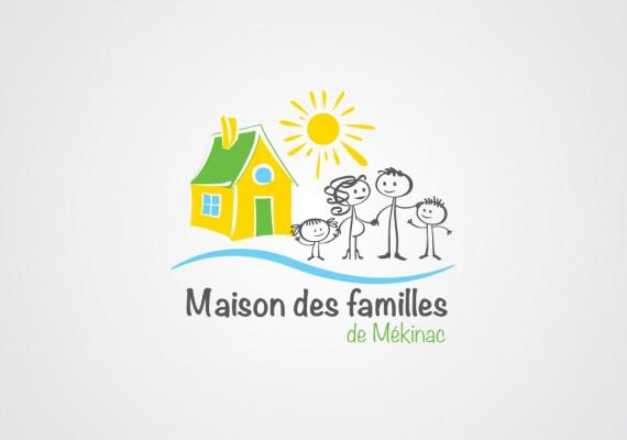 Maison des Familles de Mékinac | Logotype