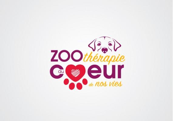 Zoothérapie au coeur de nos vies | Logotype
