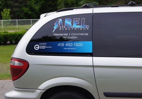 ABEL | Lettrage de véhicule