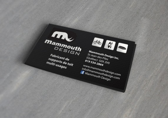 Mammouth Design | Cartes d'affaires