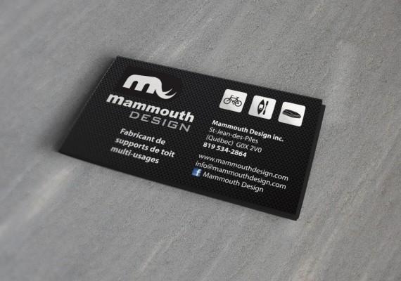 Mammouth Design | Cartes d'affaires
