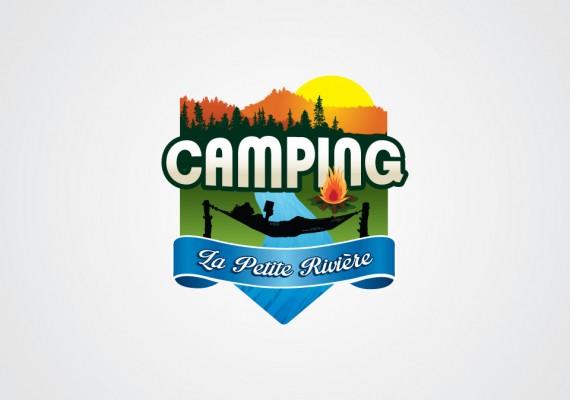 Camping la Petite Rivière | Logotype